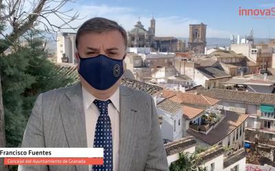Entrevista a Francisco Fuentes, concejal del Ayuntamiento de Granada sobre lo que ha supuesto la instalación de los 73 puntos WiFi en la capital