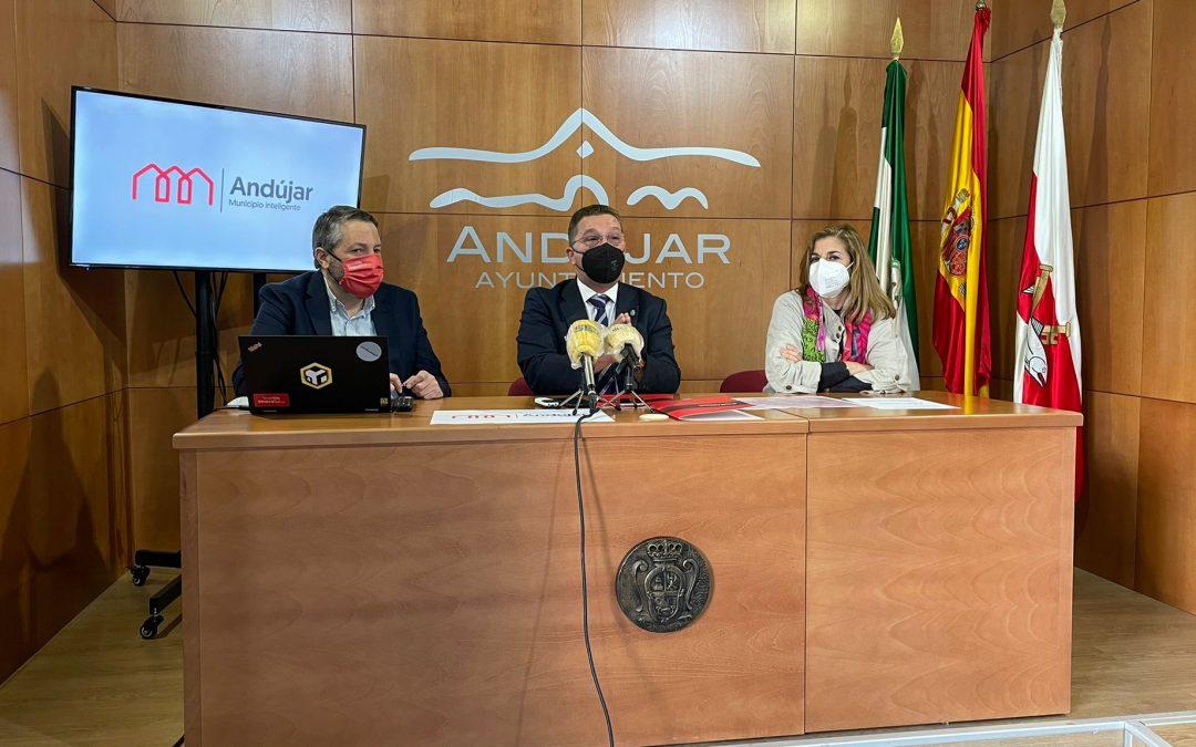 Andújar se convierte en el primer municipio de Jaén en iniciar la transformación digital y la optimización de sus recursos con 'In4City'