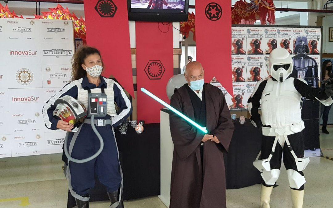 InnovaSur patrocina el 'Star Wars Battlenet IV', el torneo organizado por el IES Los Cerros para poner a prueba las destrezas en informática y telecomunicaciones de los alumnos