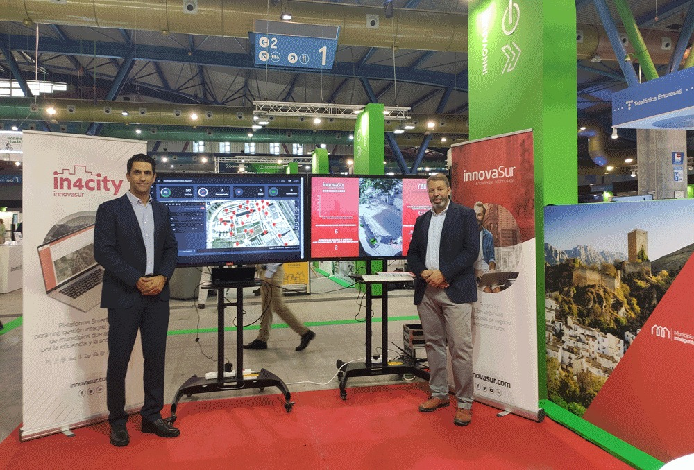 La tecnológica andaluza InnovaSur presenta en Greencities una plataforma 'smart city' de software libre y gratuita para todos los municipios